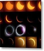 Solar Eclipse - August 21 2017 Metal Print