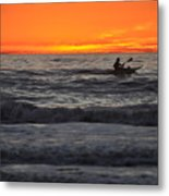 Solitude But Not Alone Metal Print