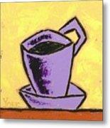 Solo Coffee IIi Metal Print