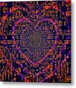 Something In The Heart Metal Print
