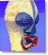 Songye Kifwebe Mask Metal Print