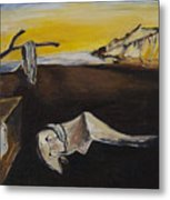 sorry Dali-itsGIFT Metal Print