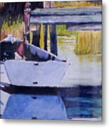 Sound Side Dock Metal Print