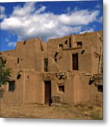 South Pueblo Taos Metal Print