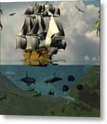 South Sea Adventure Metal Print