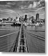 South Tower Metal Print by Russell Todd