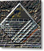Southbank London Abstract Metal Print