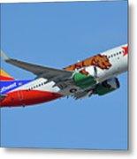 Southwest Boeing 737-7h4 N943wn California One Phoenix Sky Harbor October 16 2017 Metal Print