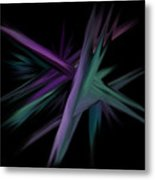 Space Shards Metal Print