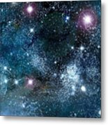 Space003 Metal Print by Svetlana Sewell