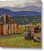 Spanish Peaks Ranch 2 Metal Print
