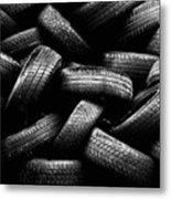 Spare Tires Metal Print by Margherita Wohletz