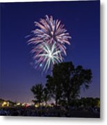 Spark And Bang Metal Print
