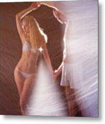 Sparkling Dance Metal Print