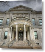 Speaker Matthew J. Ryan Building Metal Print