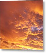Spectacular Sunrise Metal Print