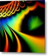 Spectrum Path Metal Print