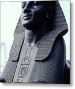 Sphinx In London Metal Print