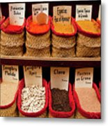 Spices  Metal Print by Harry Spitz