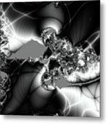Spider Cocoons Metal Print