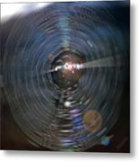 Spider Web Digital Art Metal Print