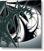 Spiky Bugs Metal Print