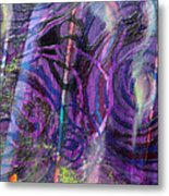 Spiral Detail From Annunciation Metal Print