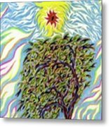 Spirit In The Tree Metal Print