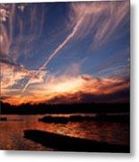 Spirits In The Sky Metal Print