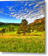 Spiritual Sky Metal Print by Scott Mahon