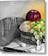 Splash Of Color Metal Print by Penny Everhart