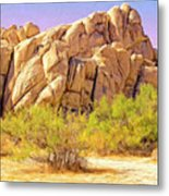 Spring At Joshua Tree Metal Print