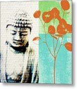 Spring Buddha Metal Print by Linda Woods