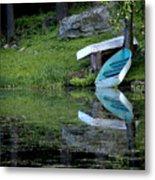 Spring On The Lake Metal Print
