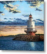 Spring Point Lighthouse Metal Print