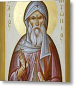 St Anthony The Great Metal Print by Julia Bridget Hayes