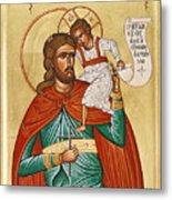 St Christopher Metal Print