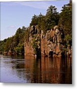St Croix River View Metal Print