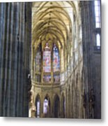 St Vitus Cathedral Metal Print