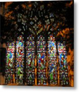 Stained Glass Window Christ Church Cathedral 1 Metal Print