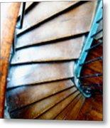 Stairs Paris Metal Print
