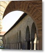 Stanford Memorial Court Arches I Metal Print