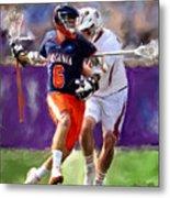 Stanwick Lacrosse Metal Print