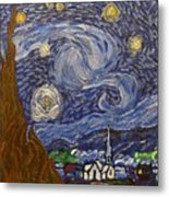 Starry Night - An Ode To Vincent Metal Print