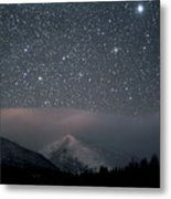 Stars Over Rocky Mountain National Park Metal Print