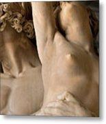 Statue In Piazza Del Signoria Florence Metal Print