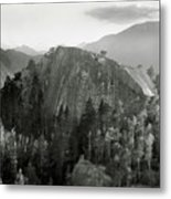 Stawamus Chief, Squamish, British Columbia, Canada, Tilt-shift Metal Print by Brian Caissie