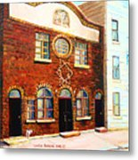 St.dominique Street Synagogue Metal Print