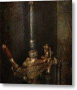 Steampunk - Plumbing - Number 4 - Universal  Metal Print