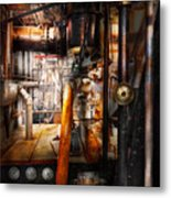 Steampunk - Plumbing - Pipes Metal Print